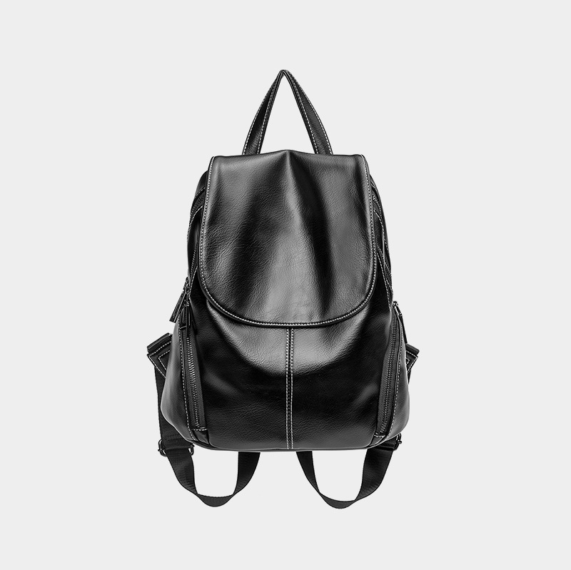 Genuine Leather Backpacks Fashion Women Backpack Leather Female Travel Shoulder Bags for Women Back Pack Soft Bagpack 2019 C841Genuine Leather Backpacks Fashion Women Backpack Leather Female Travel Shoulder Bags for Women Back Pack Soft Bagpack 2019 C841