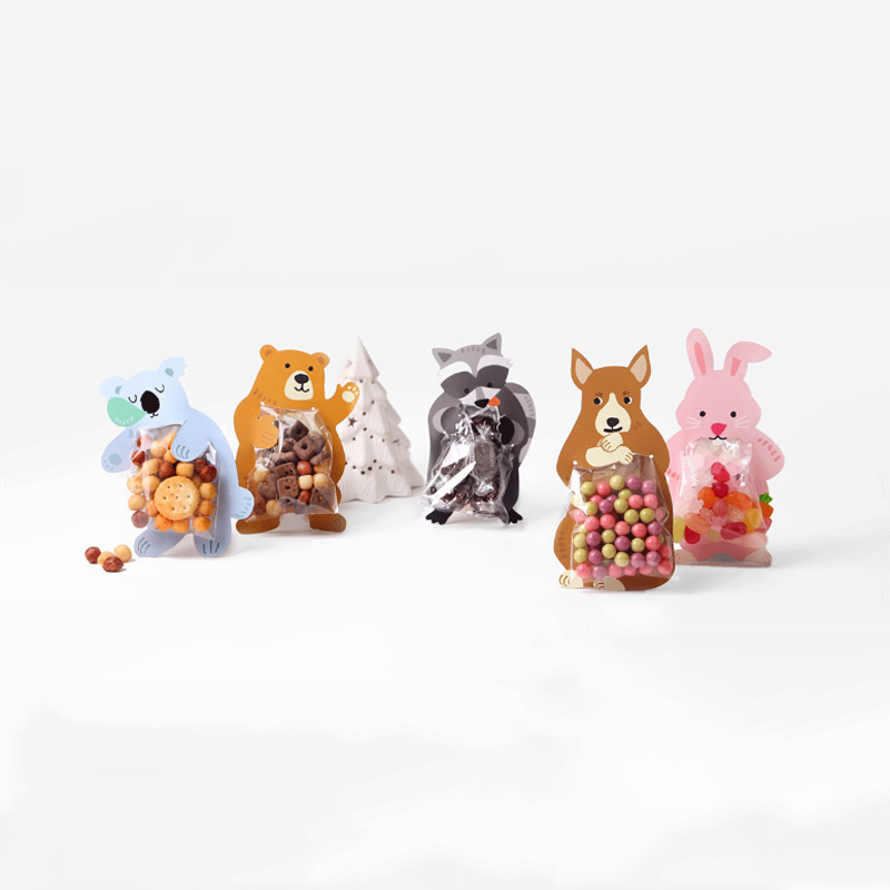 Decoration-Card Gift-Accessories Wedding-Supplies Koala Candy-Bag Birthday-Party Creative