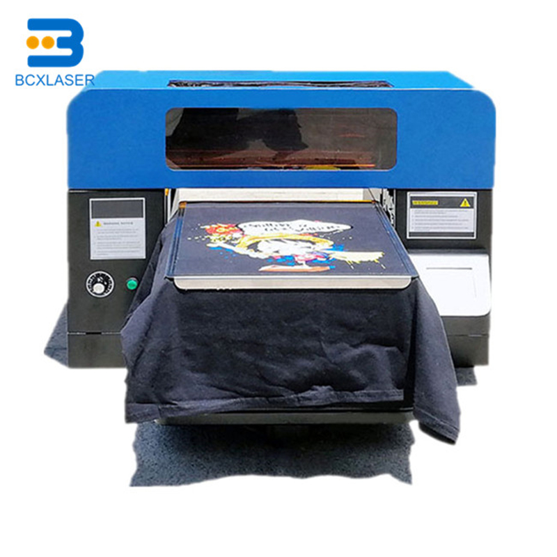 Newest Flatbed Printer A2 A3 Digital T-shirt Printer With Good After-sales Service