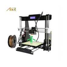 Anet A8 Desktop 3D Printer Kit LCD Control Screen Display Support TF Card Off-Line Printing DIY Acrylic Plate Cheap 3D Printer