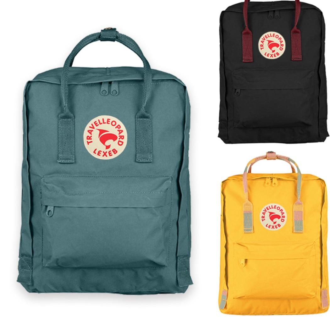 16L Famous Brand Classic Kan ken Handbags Fashion Men Women Hang Bag Waterproof Kan ken Children School Bags Student