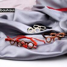 Bauhaus pulsera de algodón de varios colores, brazalete tejido a mano, elegante, diseño italiano, novedad de 2017