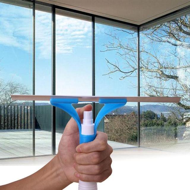Magia di Tipo Spray Spazzola di Pulizia Multifunzionale Conveniente di Vetro Cle