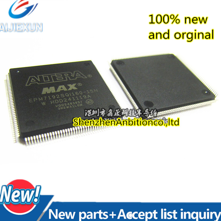 1pcs new and orginal EPM7192SQI160-15N EPM7192SQC160-15N EPM7192 QFP160 in stock