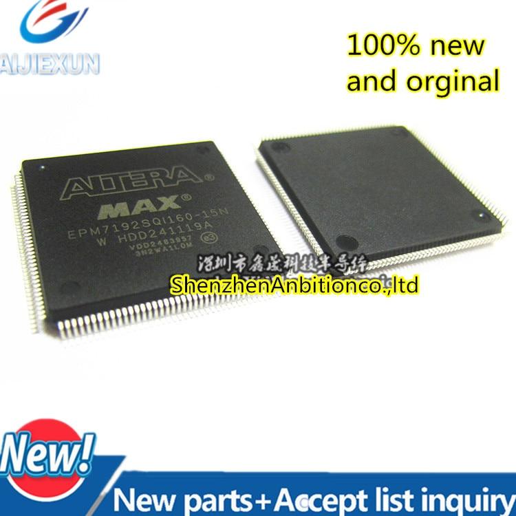 1pcs New And Orginal EPM7192SQI160-15N EPM7192SQC160-15N EPM7192 QFP160 In Stock