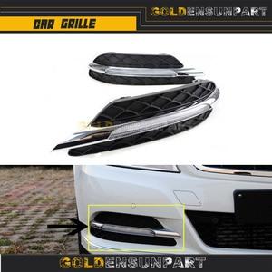 2 шт. LH + RH Светодиодный дневной ходовой свет противотуманная фара DRL для Mercedes Benz W204 C-Class 204 880 3224 204 880 3324 2048803224 2048803324
