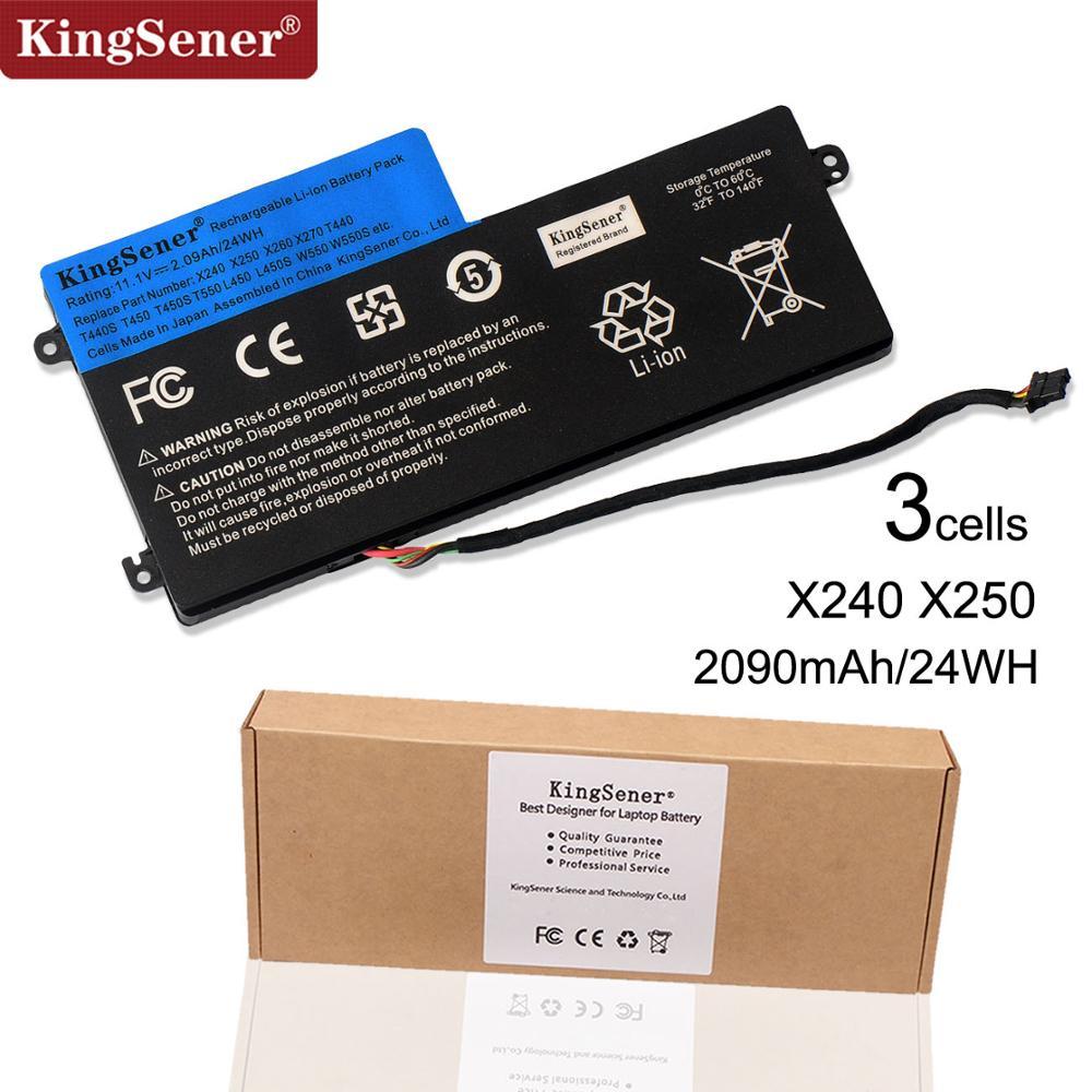 11.1V 24WH KingSener New Internal Battery for Lenovo ThinkPad T440 T440S T450 T450S X240 X250 X260 X270 45N1110 45N1111 45N1112