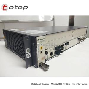 Image 2 - Expédition par DHL Huawei MA5608T GPON OLT avec 1 * MCUD 1G + 1 * carte dalimentation cc MPWC, Terminal de ligne optique MA5608T