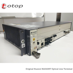 Image 2 - Shipping by DHL Huawei MA5608T GPON OLT with 1*MCUD 1G + 1*MPWC DC Power Board, MA5608T Optical Line Terminal