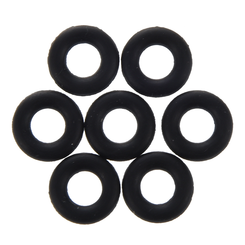 50 Pcs Flexible Nitrile Rubber O Rings Washers Grommets 4mm X 9mm X 2.5mm Resist Oils, Hydraulic Fluid And Water Flexible