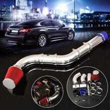 3 дюймов Универсальный Автомобильный Автогонки прямого холодного воздуха фильтр воздухозаборника комплект Системы производительность холодного воздуха индукции воздушного фильтра