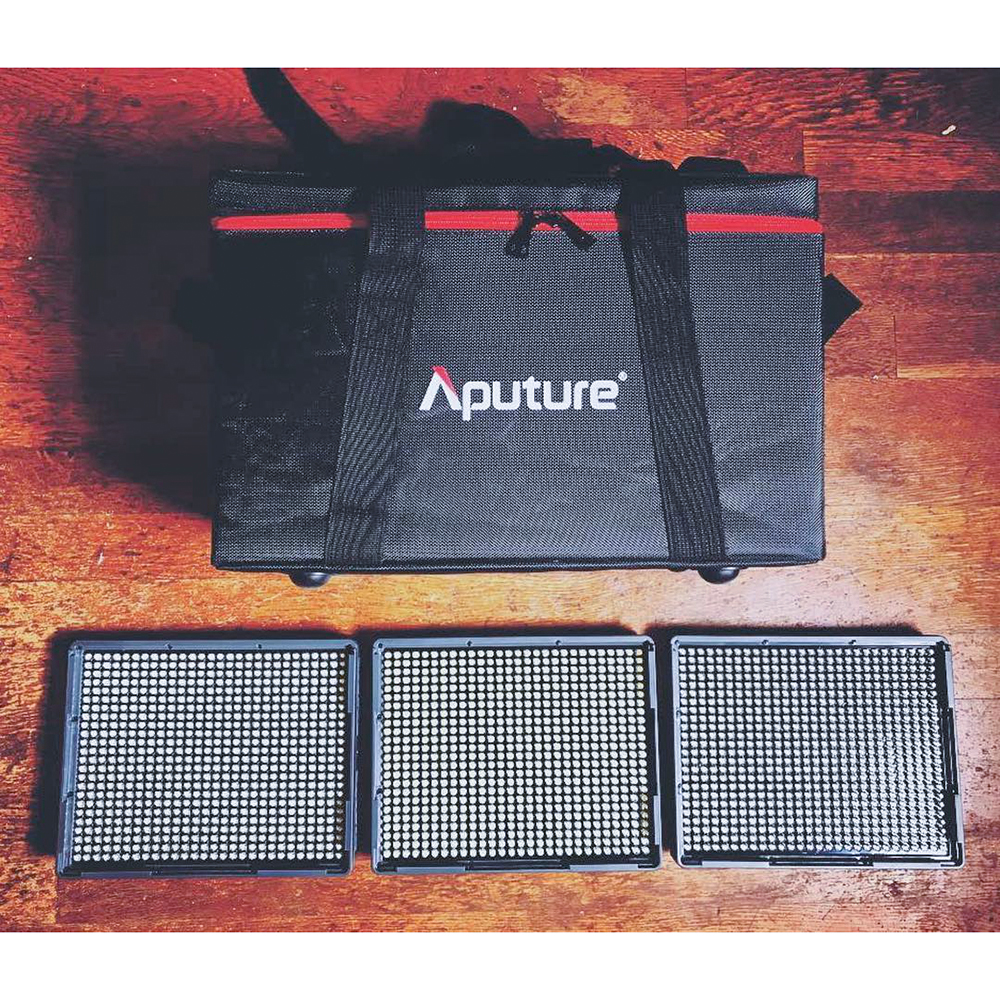 Aputure Amaran LED Video Luce Della Macchina Fotografica Set HR672 KIT Photography Luce Luce Video LED per Youtube di Illuminazione Studio Professionale