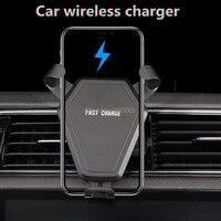 Car Wireless Charger Car Phone Holder For seat leon 1 suzuki samurai audi a3 8v vw passat b6 mazda 6 bmw r1200gs mercedes cla