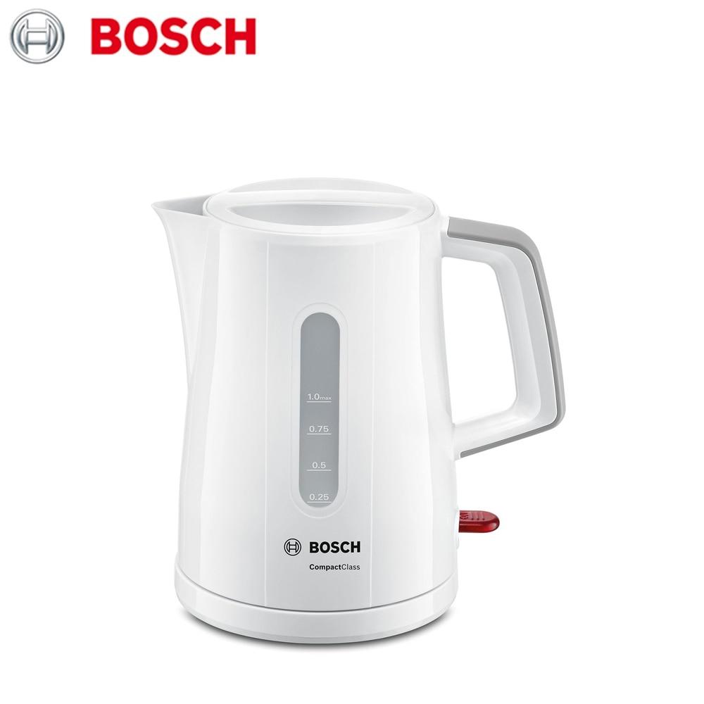 лучшая цена Electric Kettles Bosch TWK3A051 home kitchen appliances kettle make tea