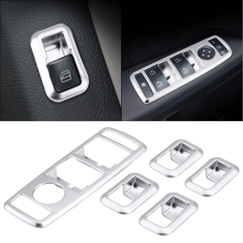 head light switch button cover trim For Benz A B C CLS GLK CLA E GLA ML GL GLE