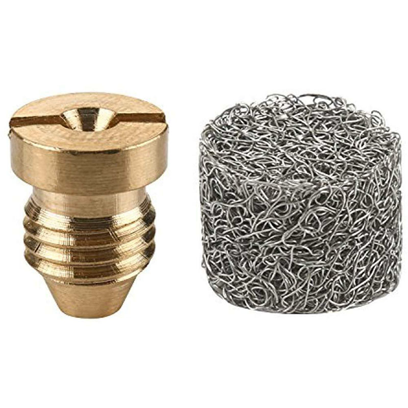 1.1mm Orifice Brass Screw Nozzle Tips For Snow Foam Lance Cannon Universal SL
