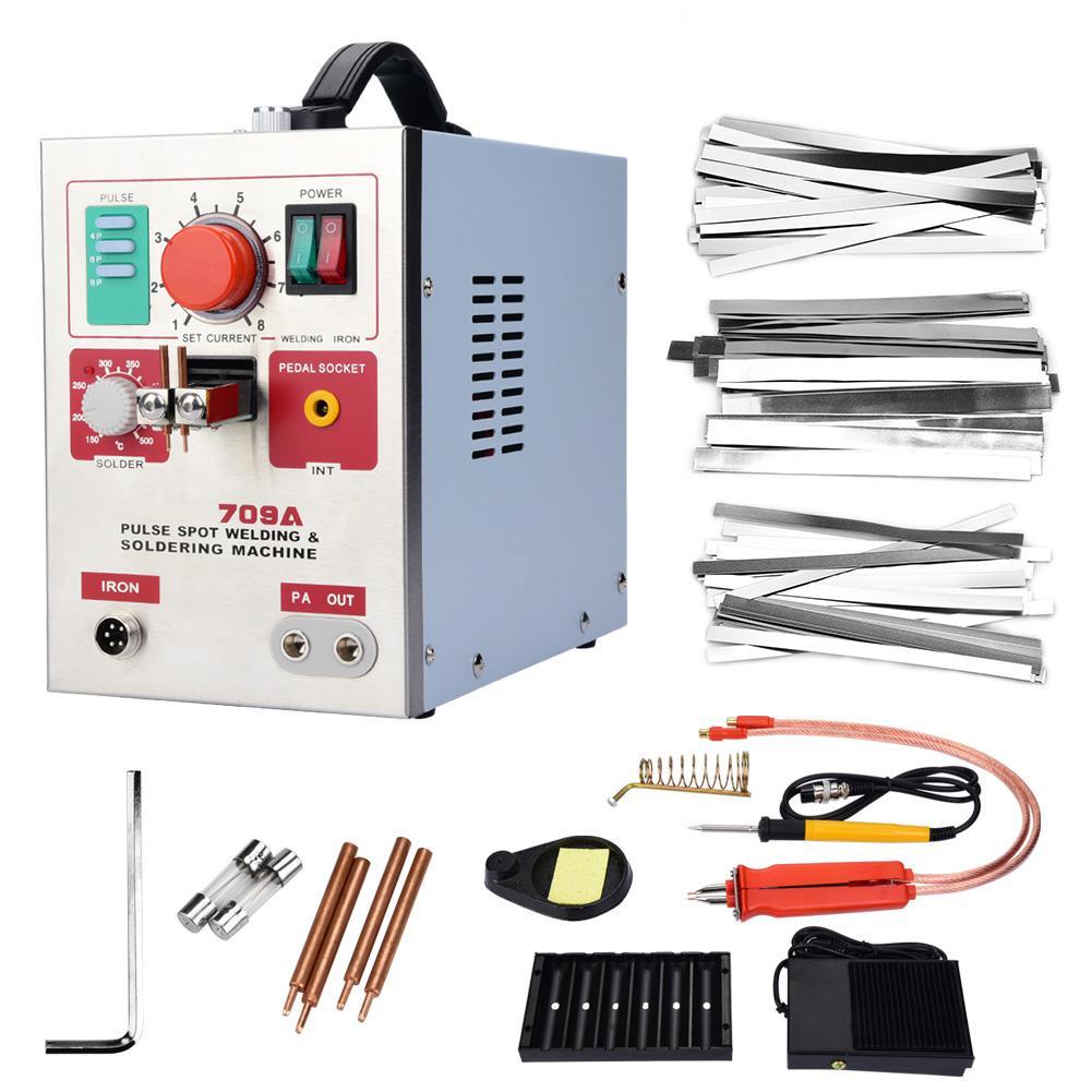3 2kW Spot Welder Soldering Pen DIY 18650 Lithium Battery Welding Machine Wholesale