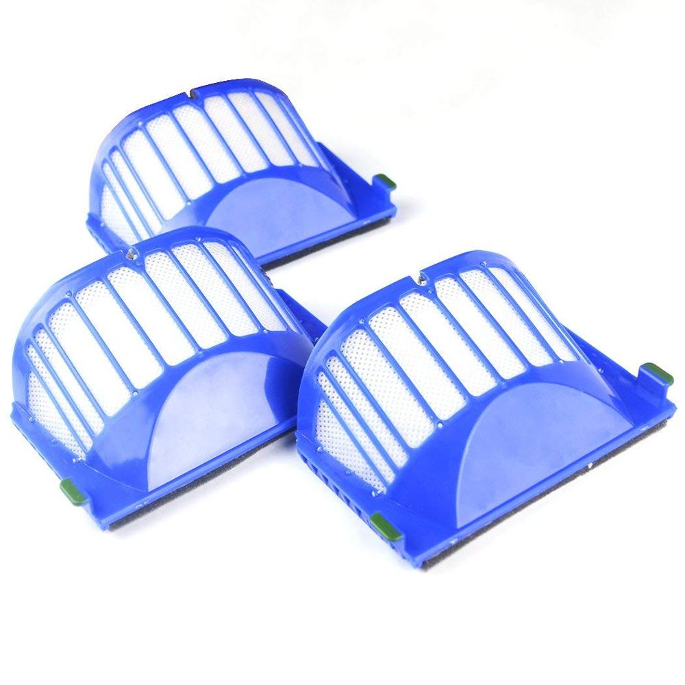 Wholesale AeroVac Filter for irobot Roomba 500 600 Series 528 552 564 595 610 615 620 625 630 650 660 670 accessory Replacment