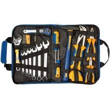 Набор инструментов KRAFT KT 703002 (23 предмета, закаленная хром-ванадиевая сталь, сумка)