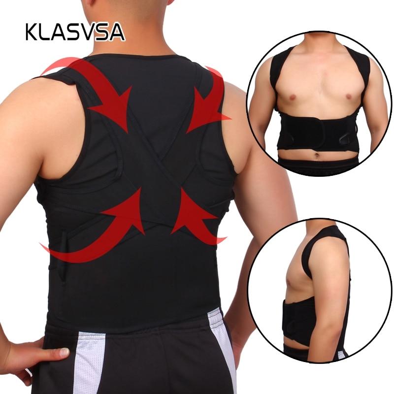 Back Shoulder Support Brace Straightener Posture Corrector Vest Back Support Belt Correction For The Back Scoliosis S - XXXL