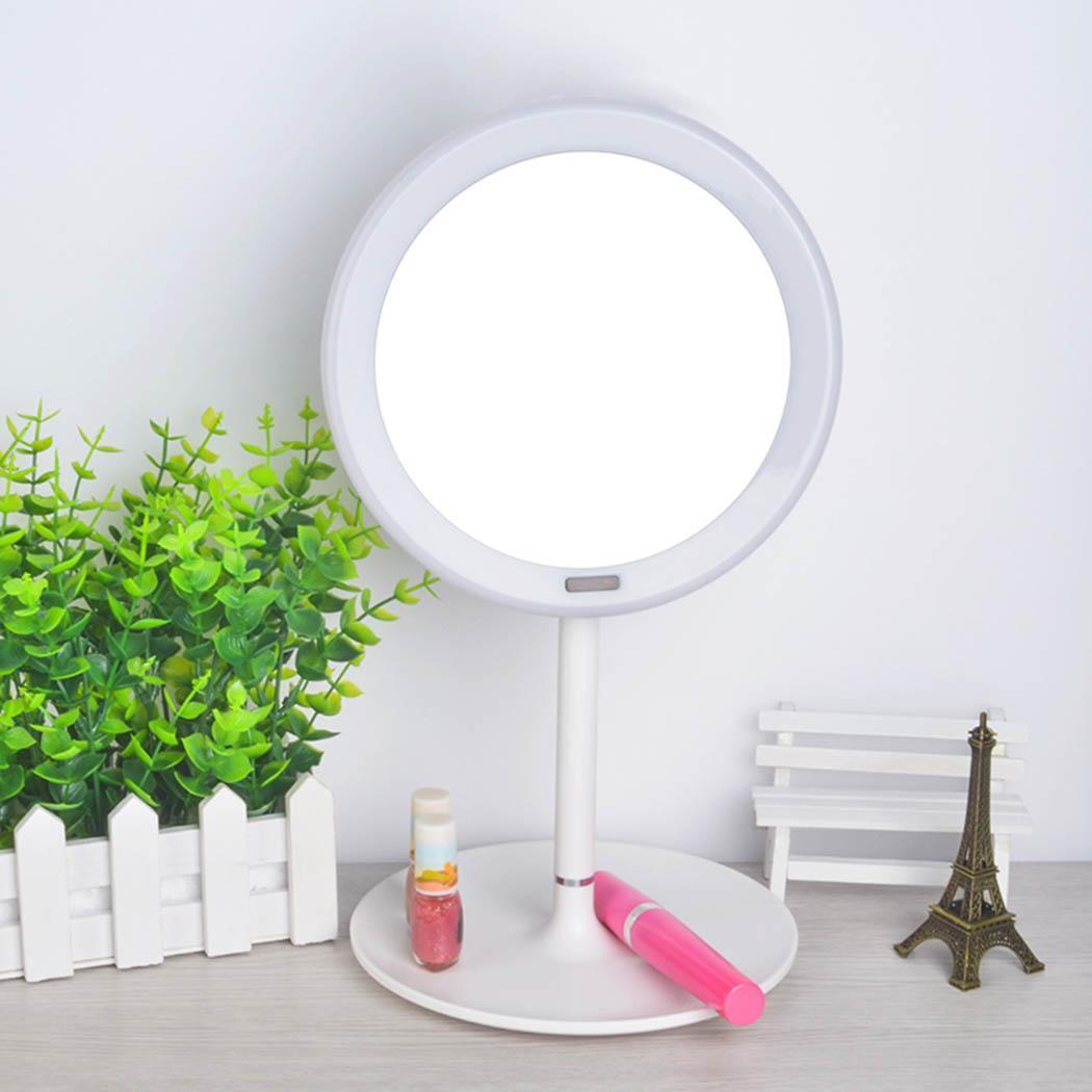 Bad Spiegel Zahlreich In Vielfalt Neue Led Make-up Spiegel Körper Sensing 5 # Batterie X 4 Abs 5x Verstärkung 485g Funktion Schlafzimmer Schminkspiegel Schönheit & Gesundheit