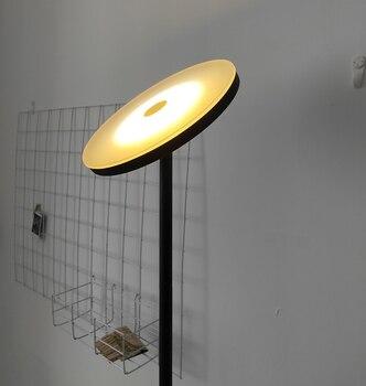Nordic ściemniania lampa podłogowa sypialnia lampki nocne oprawy oświetlenia salonu wystrój pilot zdalnego lampa obrotowa głowy nowoczesne Lampa LED podłogowa