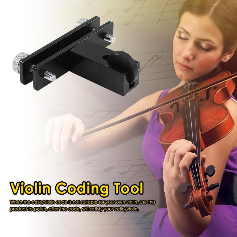 Metal Making Violin Tool Redressal Violin Bridge Black Machine Luthier Tool  Violin Parts & Accessories