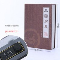Dictionary Book Styles Safes Box Book Money Hide Secret Security Safe Cash Money Coin Storage Jewelry key Locker Kid Gift DHZ026