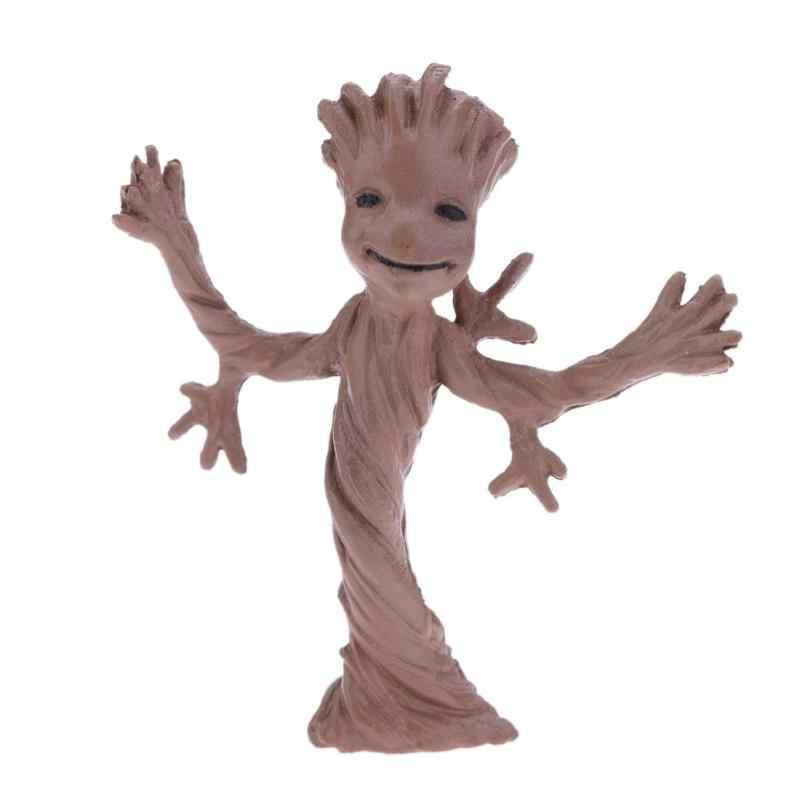 Equipe de escolta Da Árvore do Homem Figura de Ação Boneca de Brinquedo DIY Paisagismo