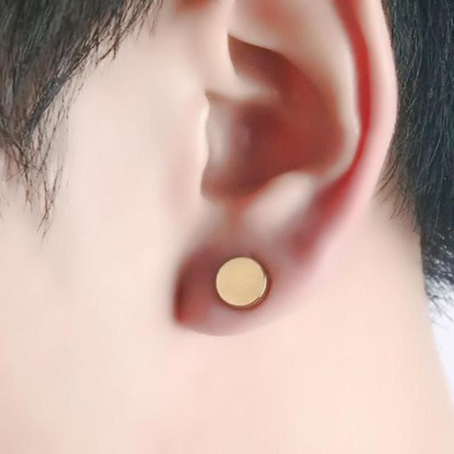 1Pair Punk Women Men Strong Magnet Magnetic Ear Stud Non Piercing Earrings Fake Earrings Gift for.jpg 640x640 - 1Pair Punk Women Men Strong Magnet Magnetic Ear Stud Non Piercing Earrings Fake Earrings Gift for Boyfriend Lover Jewelry