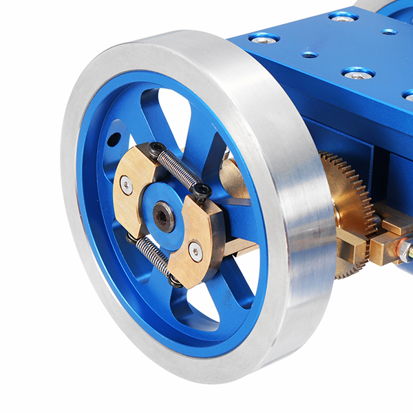 Full Metal Blue Engine Hit Miss Gas Model Engine Science Developmental Gift Collection Toy School Educational Equipment For Kids