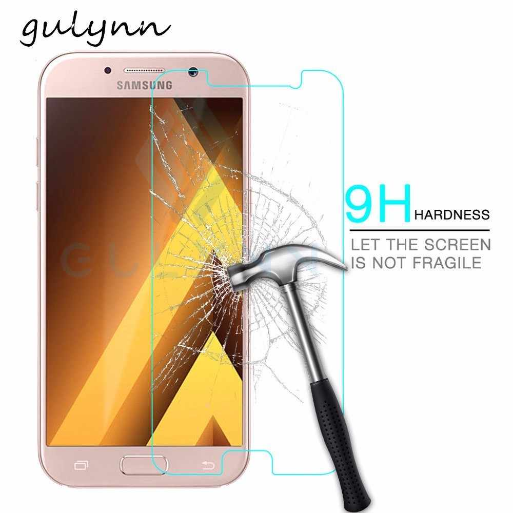 HD Protective Glass On For Samsung Galaxy A5 A3 A7 2017 2018 9H Tempered Glas For A6 A8 J6 J4 Plus 2018  Screen Protector Film
