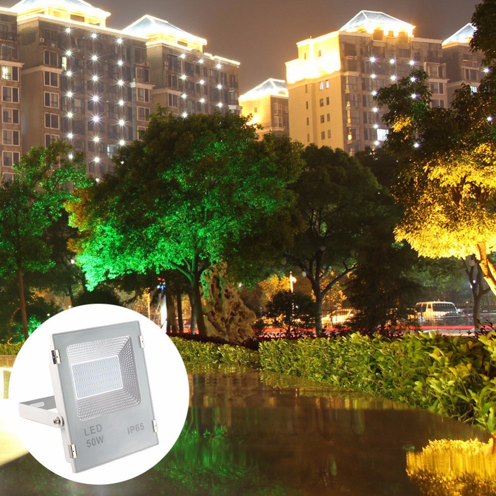 LED Flood Light Projector IP66 WaterProof 50W 100W 86-264V LED FloodLight Spotlight Outdoor Wall Lamp Garden Outdoor Lighting led flood light projector ip66 waterproof 50w 100w 86 264v led floodlight spotlight outdoor wall lamp garden outdoor lighting