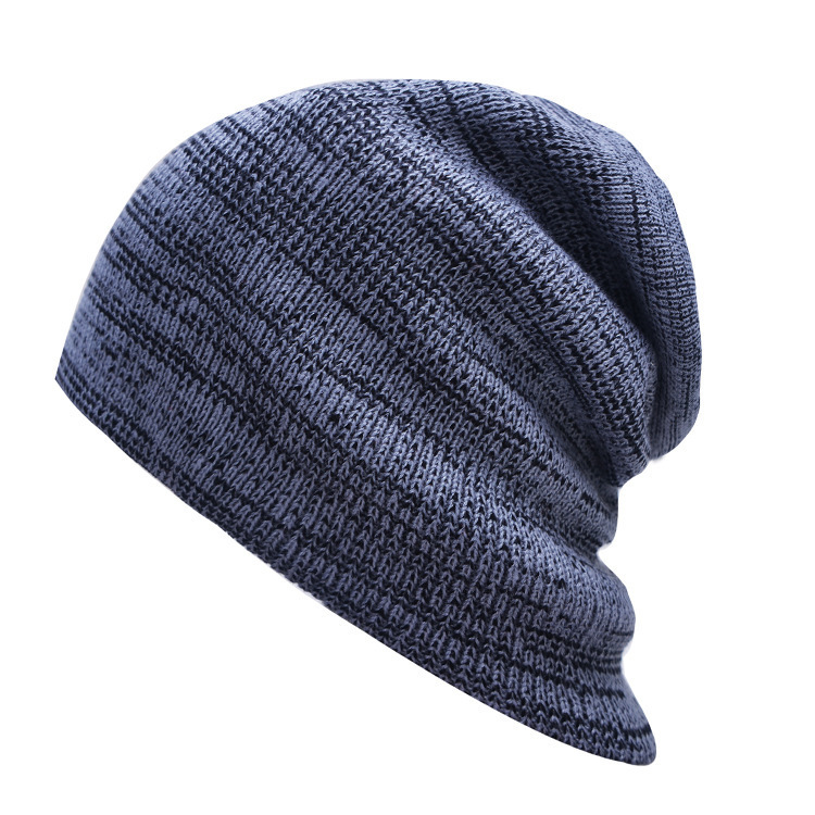 Knitted Hat Women's Winter Warm Casual Acrylic Slouchy Hat Crochet Ski   Beanie   Hat Female Soft Baggy   Skullies     Beanies   Men Women