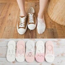 Цветные невидимые короткие женские летние удобные хлопковые носки-башмачки с фруктами женские короткие носки по щиколотку, 1 пара = 2 шт., x111