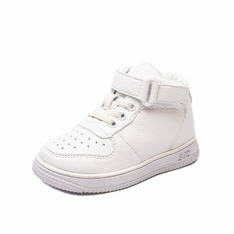 Detail Feedback Questions about Autumn And Winter New Pattern Brand White  Children Shoes High Top Boys Sneakers Girls Tennis Trainer 1 2 3 4 5 6 7 8  9 years ... aad883853d1