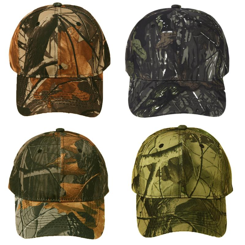 Army Style 2018 Unisex Snapback Camouflage Wild Hiking Cap Tactical Adjustable Baseball Cap Hat Gorra Casquette for Men Women