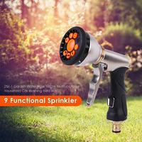 Multifunctional High Pressure Sprinkler Garden Water Hose Nozzle Car Washing Yard Water Sprinkle Tools