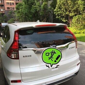 Voor Honda CRV Spoiler D ABS Plastic Unpainted Kleur Dakspoiler Vleugel Kofferbak Lip Boot Cover Auto Styling