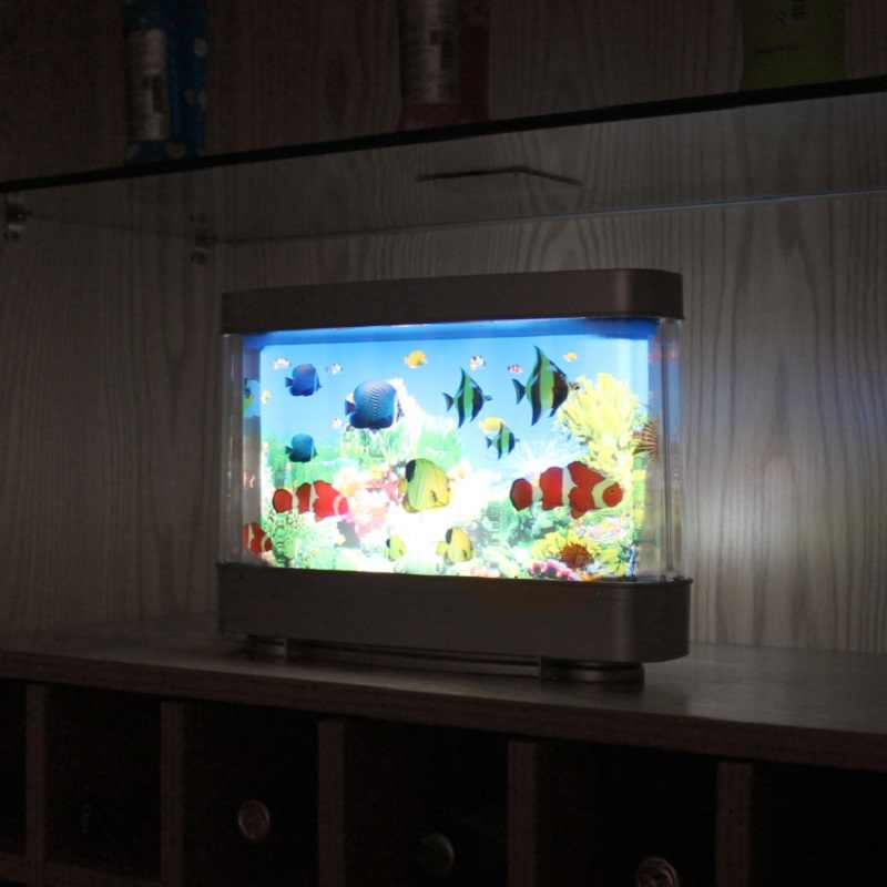 Fake Fish Moving Picture Lamp Aquarium Lamp Motion Fish Night Light For Kid S Room With False Fish Led Gift For Children Or Pet Lightings Aliexpress