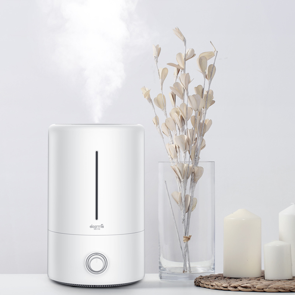 Deerma Humidifier 5L Air Humidifier 35db Quiet Air Purifying For Air Conditioned Rooms Office Household Humidifiers     - title=