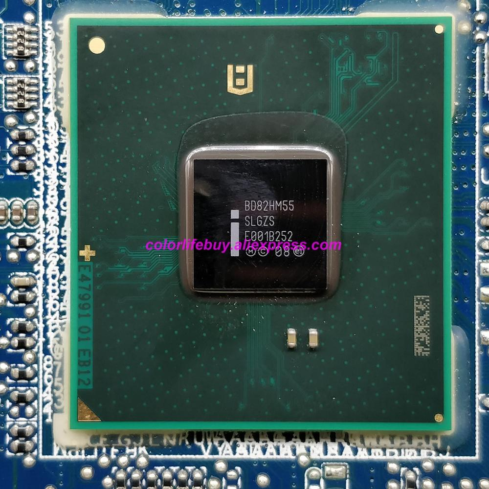 Image 5 - Genuine CN 0205RN 0205RN 205RN 216 0774009 HM55 DDR3 Laptop Motherboard Mainboard for Dell Studio 1458 Notebook PC-in Laptop Motherboard from Computer & Office