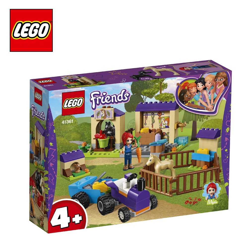 Blocks LEGO 41361 Friends play designer building block set  toys for boys girls game Designers Construction 2017 new friends heartlake stables girls mia s farm building blocks 272pcs set bricks toys compatible with bale 10163