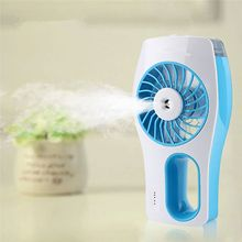 Mini USB Handheld Beauty Moisturizing Fan with Cooling Spray Humidifier Rechargeable and Portable 3 Modes Humidifier Fan