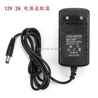 100PCS 12v2a switching power supply LED lamp power supply 12 v power supply 12v2a power adapter 12v 2a router US/EU/UK/AU plug