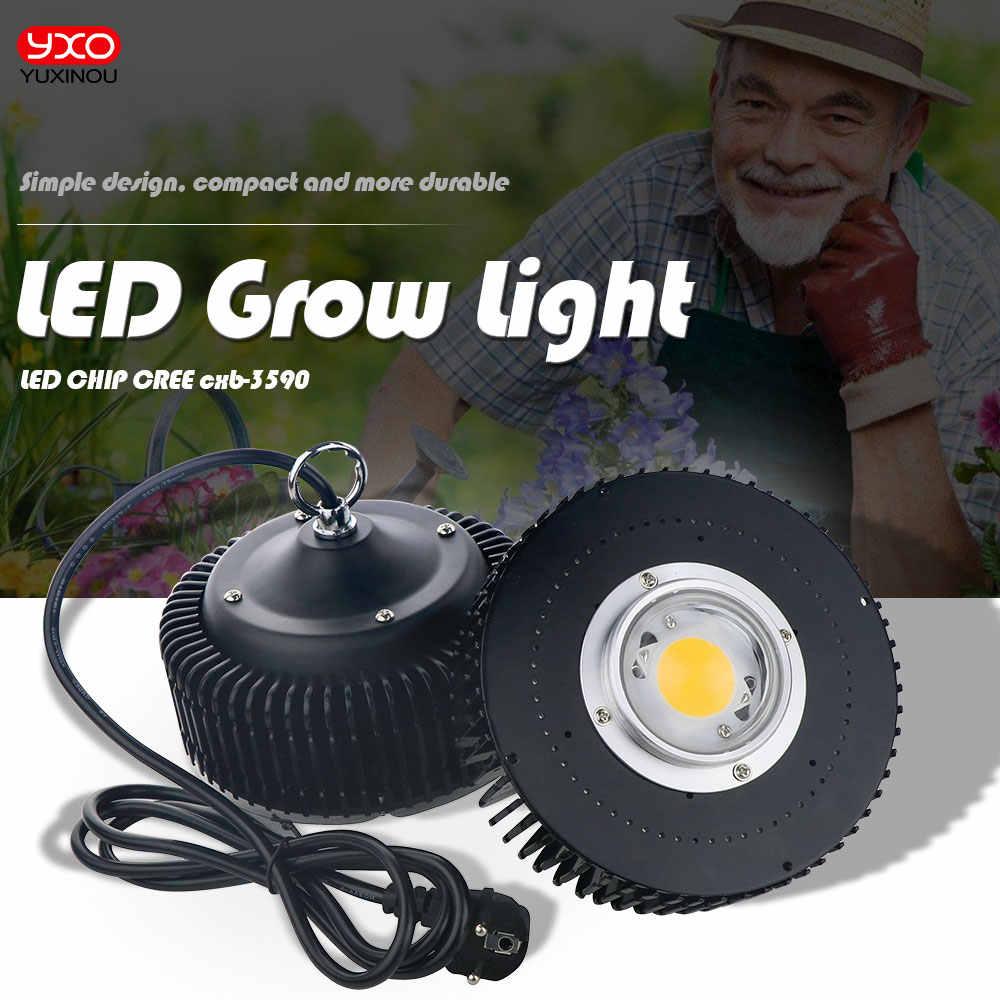 Original Cree COB CXB3590 CXB 3590 led crece la luz 3000k 3500k 5000k 80 Samsung LM561C S6 led luz para crecer plantas medicinales