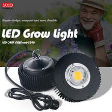 Cree cob cxb3590 cxb 3590 original, led, luz de crescimento 3000k 3500k 5000k 80 samsung lm561c s6 led luz crescente para plantas médicas