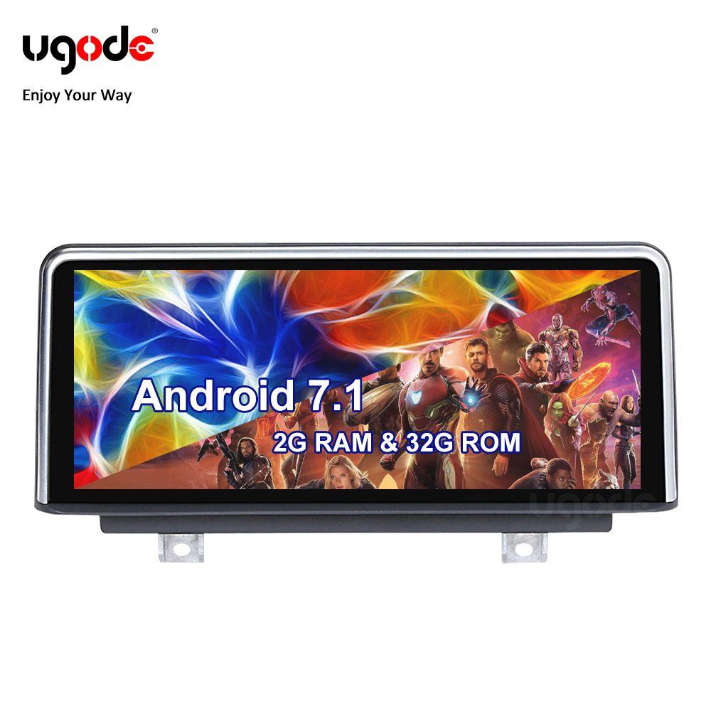 Ugode <font><b>Android</b></font> Auto Stereo Multimedia GPS Navigation for <font><b>BMW</b></font> 1 2 Series <font><b>F20</b></font> F21 F22 F23 7.1 System 32G ROM Fast Delivery image