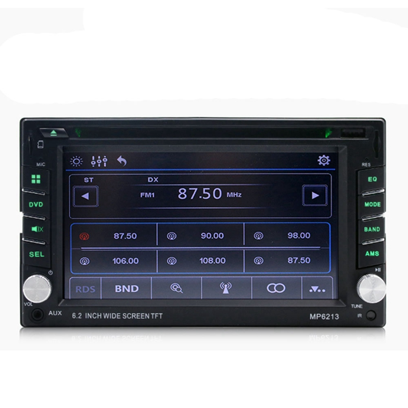 Car 6.2 Inch Multimedia Dvd Cd Card Machine Mp3 Player Fm Radio Mp6213Car 6.2 Inch Multimedia Dvd Cd Card Machine Mp3 Player Fm Radio Mp6213