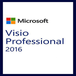 Microsoft Office Visio Professional 2016 For Windows Product key Download Digital Delivery 1 User